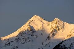 Montagne di Winterly Fotografie Stock Libere da Diritti