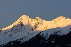 Montagne di Winterly Immagine Stock Libera da Diritti