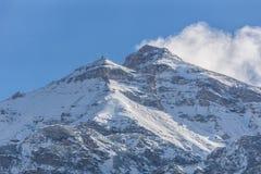 Montagne di Winterly Fotografia Stock Libera da Diritti