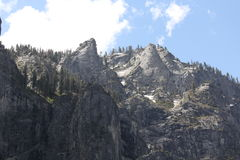 Montagne di Yosemite Fotografia Stock Libera da Diritti