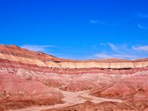 Montagne dipinte Arizona del deserto Fotografie Stock