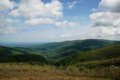 Montagne distanti Fotografie Stock