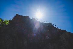 Montagne Doi Luang Chiang Dao Fotografie Stock Libere da Diritti