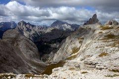 Montagne in Dolomiti Fotografia Stock