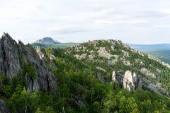 Montagne Dvuglavaya Images libres de droits