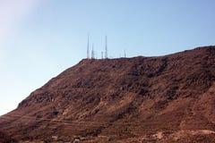 Montagne e colline nel Nevada Fotografie Stock