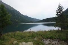 Montagne e lago in Polonia Fotografia Stock