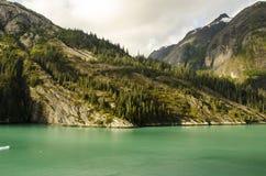 Montagne e mare d'Alasca Immagine Stock Libera da Diritti