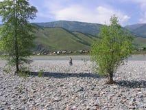 Montagne e natura fotografia stock