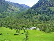 Montagne e natura Immagine Stock Libera da Diritti
