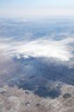 Montagne e nubi fotografie stock libere da diritti