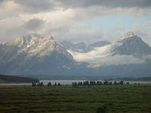 Montagne e praterie IV Fotografia Stock
