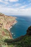 Montagne e scogliere del Madera Fotografie Stock Libere da Diritti