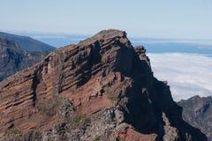 Montagne e scogliere del Madera Fotografia Stock
