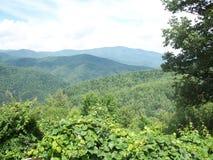 Montagne e terra Fotografia Stock Libera da Diritti