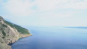Montagne ed il mare stock footage