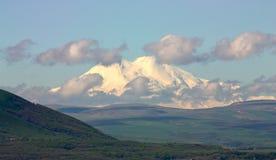 Montagne Elbrus. Photo libre de droits