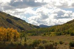 Montagne en automne Image stock