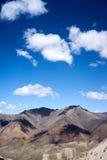Montagne en chaîne de Kichik-Alai Photographie stock libre de droits
