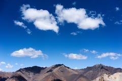 Montagne en chaîne de Kichik-Alai Image libre de droits