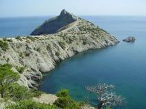 Montagne en Crimée Photographie stock