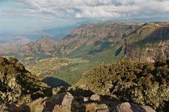 Montagne en Ethiopie. images stock