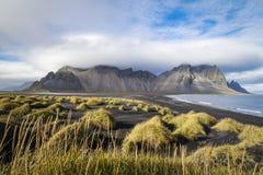 Montagne en Islande Photographie stock libre de droits