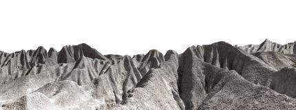 Montagne en pierre Photo libre de droits