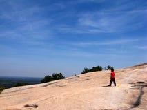 Montagne en pierre Photos stock