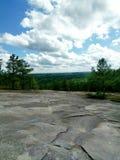Montagne en pierre Image libre de droits