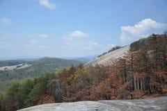 Montagne en pierre Images stock