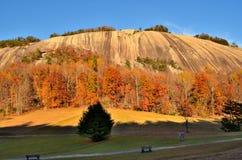Montagne en pierre la Caroline du Nord Images stock