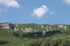 Montagne en Serbie centrale près de monastère de Manasija Photo libre de droits