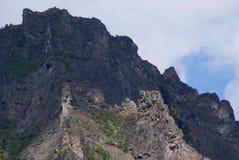 Montagne en Sibérie Image libre de droits