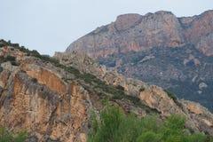 Montagne en sierra del montseny image libre de droits