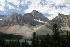 Montagne en stationnement national de Banff Image libre de droits