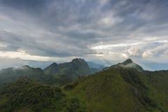 Montagne en Thaïlande Photographie stock libre de droits