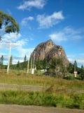 Montagne en verre Photo stock