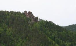 Montagne Ermak Photographie stock libre de droits
