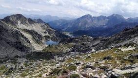 Montagne et lac de paysage Photo libre de droits