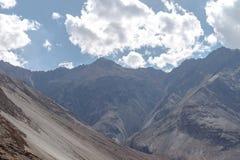 Montagne et paysage naturel, Leh Ladakh Inde en août 2017 Images libres de droits