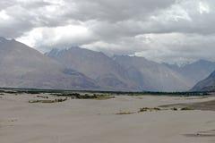 Montagne et paysage naturel, Leh Ladakh Inde en août 2017 Image libre de droits