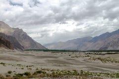 Montagne et paysage naturel, Leh Ladakh Inde en août 2017 Photographie stock