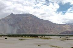 Montagne et paysage naturel, Leh Ladakh Inde en août 2017 Photos stock