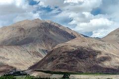 Montagne et paysage naturel, Leh Ladakh Inde en août 2017 Images stock