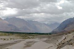 Montagne et paysage naturel, Leh Ladakh Inde en août 2017 Photos libres de droits