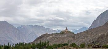 Montagne et paysage naturel, Leh Ladakh Inde en août 2017 Photo libre de droits