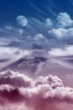 Montagne féerique Photo libre de droits