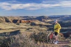 Montagne faisant du vélo dans le Colorado Photographie stock