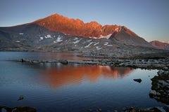 Montagne fendue photographie stock